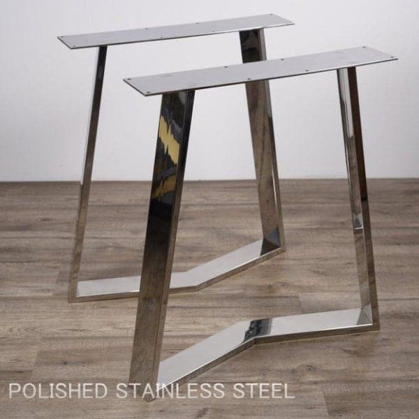 Полированные ножки стола, столовый из нержавеющей стали ноги, нержавеющая сталь диванов Ножки, ножки из нержавеющей стол, Ножки