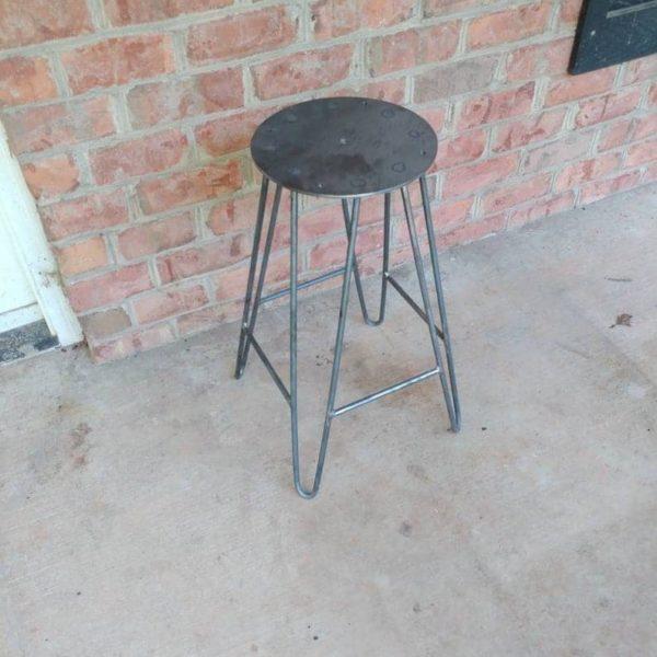 Сырая сталь 4 нога Заколка Барного стул Основа - DIY - Пользовательское Heights Доступного