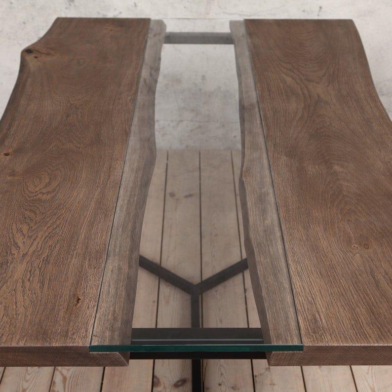 Regent обеденный стол с V образный стальной Ноги