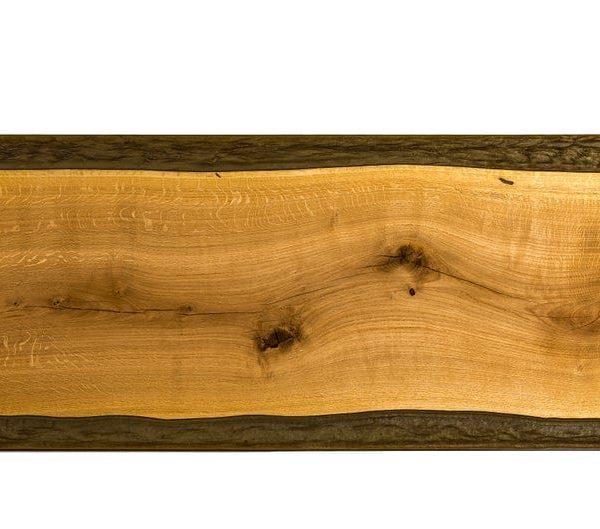 в темно-зеленый цвет Смола - - Смола журнальный столик - натуральный дуб ручной работы - ручной работы - Современный Сельский стиль - Жизнь дизайн помещения
