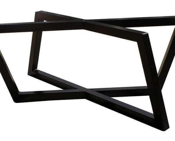 Ромб Ноги - Журнальный столик высота - Black Powder Coat