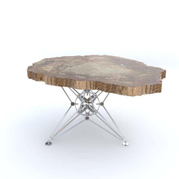 Подстолье для круглого стола из прутка ПКС016