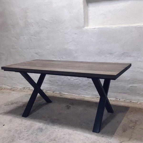 Солфордский Жирный X Фасонных Ноги обеденных стола
