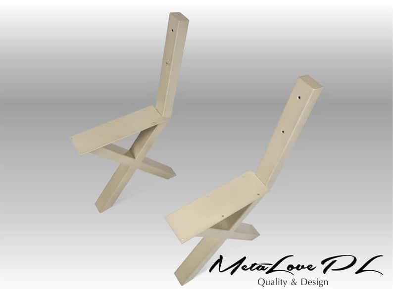 Набор из 2-х, Скамья ноги, Промышленные скамейки, мебель, ИКСИ 80.40 Bench ноги,