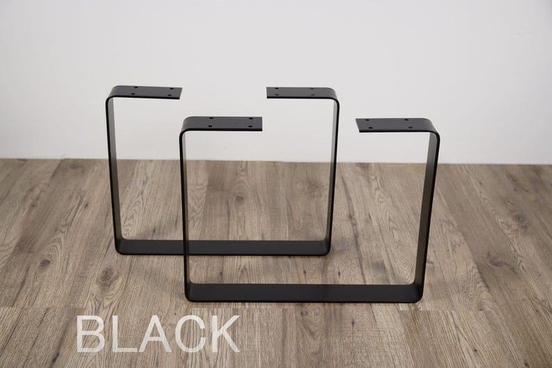 Набор из 2 стальных ножек скамьи, стальных ножек журнального столика, металлических ножек стола, промышленных ножек, стальной ножки стола, подставки журнального столика