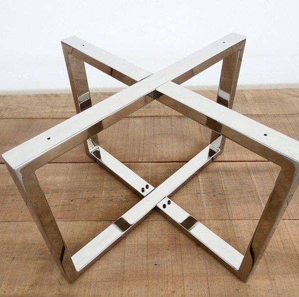 Подстолье для круглого стола из нержавеющей стали пк216
