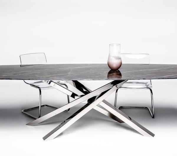 Ножки стола из нержавеющей стали, Основание стола, НЕРЖАВЕЮЩАЯ СТАЛЬ, Diy, Современный дизайн, NEXUS 80.60