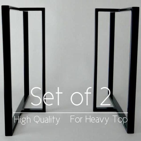 Стальной Обеденный Стол Шпилька Ноги.Металлические ножки стола 28x23 & quot;для промышленного кухонного стола.