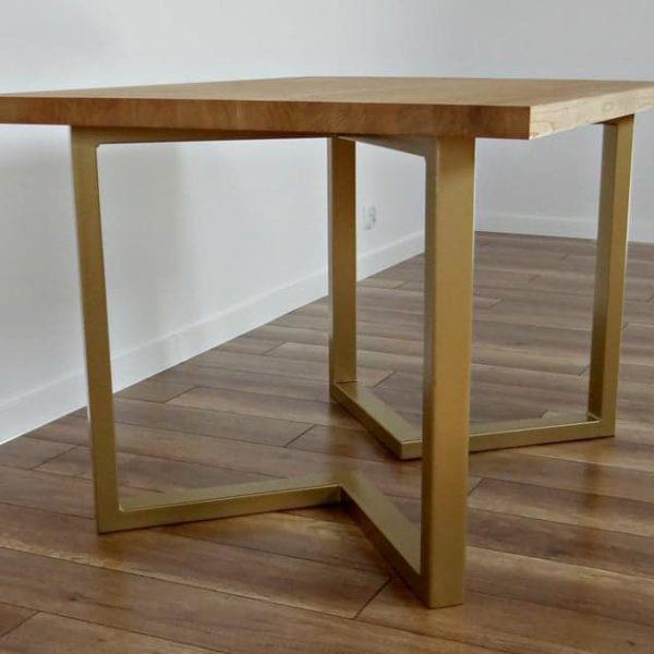 Стальные ножки для обеденного стола 28x28 & quot;(набор из 2).Современные металлические ножки стола.Промышленный стол.Железные ножки стола.Металлические ножки для Reclaimed Wood