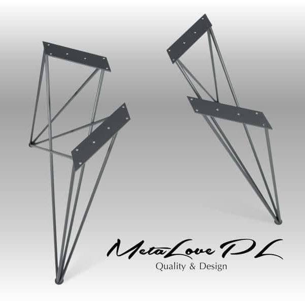 Стальные ножки, ножки, стол, металлические ножки, обеденный стол, письменный стол ноги, стол, ножки мебели, промышленный стол, набор 2, ROYAL ROD