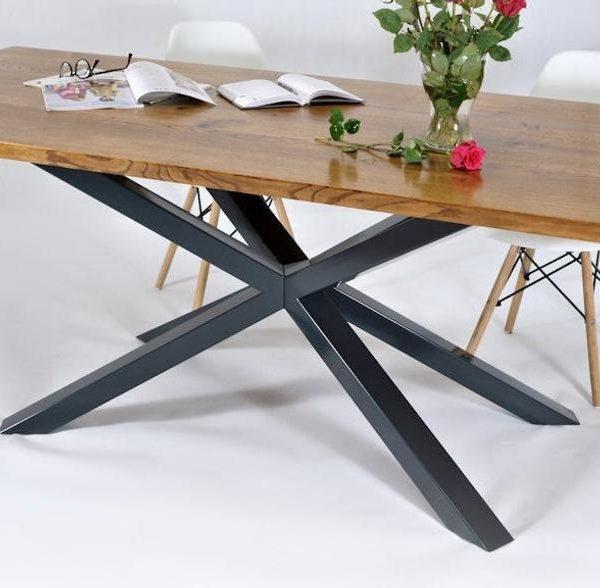 Таблица базы, столовый стол, промышленный стол, сделай сам, современный стол, ножки стола, порошок CoatedHeight 26 & Quot - , XSAVI 80.60 Уникальной Ржавчина Эффекта