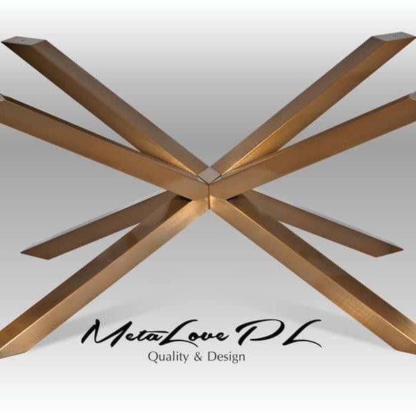 Таблица базы, Spider Ножки, обеденный стол базы, Metal Base, стальной стол, Золотой порошок с покрытием, XSAVI 80,60