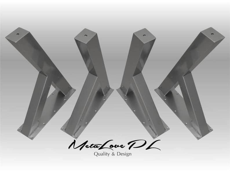Ножки, мебель, Промышленная Таблица, DIY, исправленная Таблица, YESMetal Teble LegsSET (4)