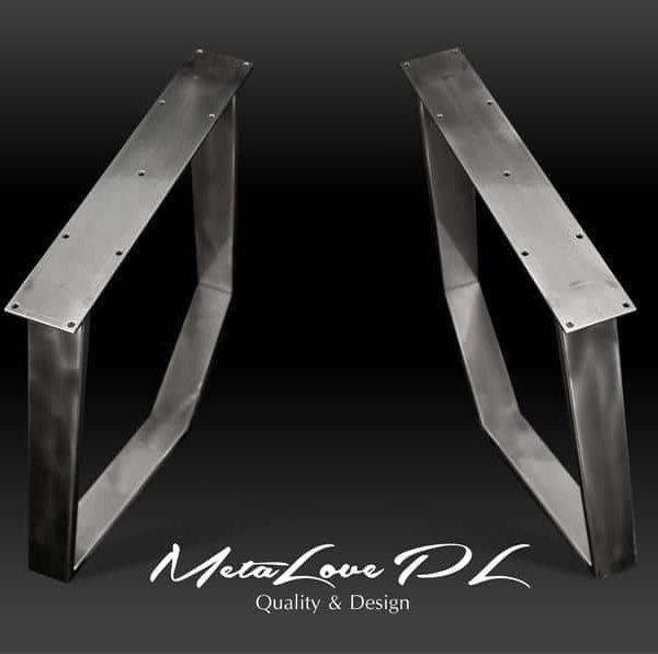 Ножки, Стол, металлические ножки, обеденный стол, письменный стол ноги, письменный стол, ножки мебели, стальные ноги, промышленный стол, набор из 2 DEBI 80,20
