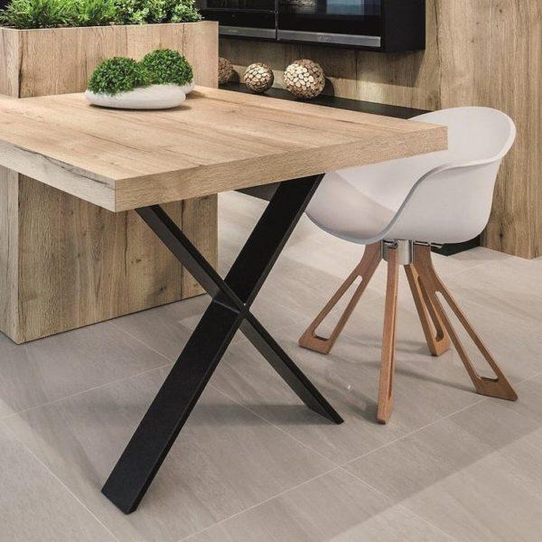Ножки, Стол, металлические ножки, обеденный стол, письменный стол ноги, письменный стол, ножки мебели, стальные ноги, промышленный стол, набор из 2, ИКСИ 80,20