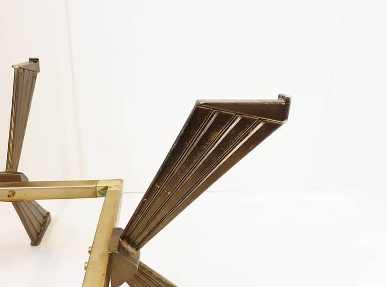 TrГЁs Шикарный пестрый де стол Г 2 niveaux ан mГ © Tal dorГ © 1970 марочных семидесятые 70 & # 39 s