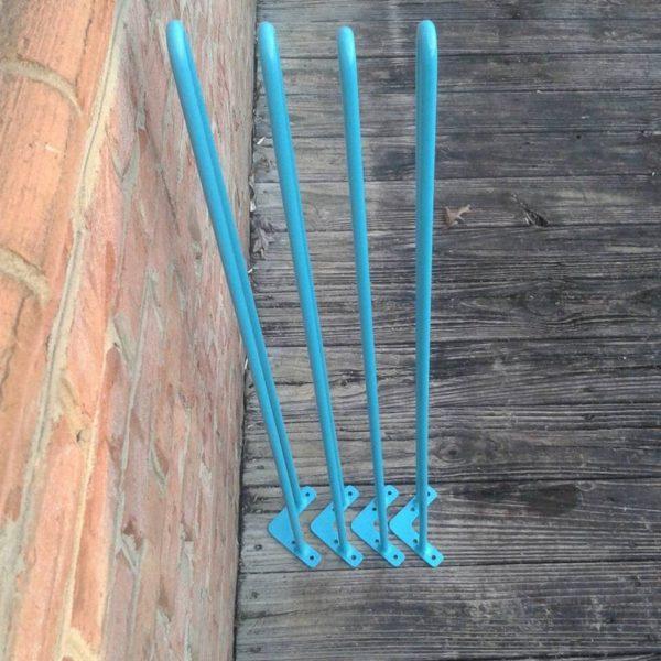 Бирюзовые 28 дюймов шпилька ноги - каждая ножка