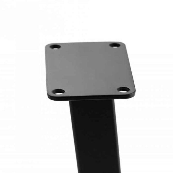 U-образные стальные ножки скамьи, ножки журнального столика, подставка для скамьи, основание журнального столика, основание торцевого бокового стола, металлическое основание небольшого стола, набор стальных ножек из 2