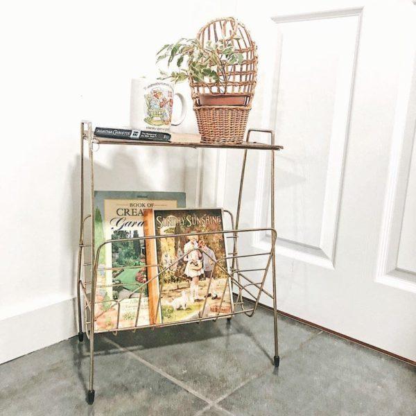 Vintage Industrial Приставной стол, тумбочка, журнал стойки, Атомные Ноги