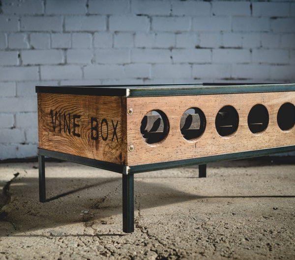 Вино стол / хранение вина / Промышленное вино стол / Rustic вина стол / Промышленная мебель / Rustic мебель / Мебель ручной работы