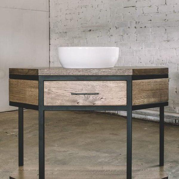 Деревянный комод / Комод / Тумба / Промышленная мебель / Древесина / Деревянная мебель / Кухонная мебель / Промышленный декор