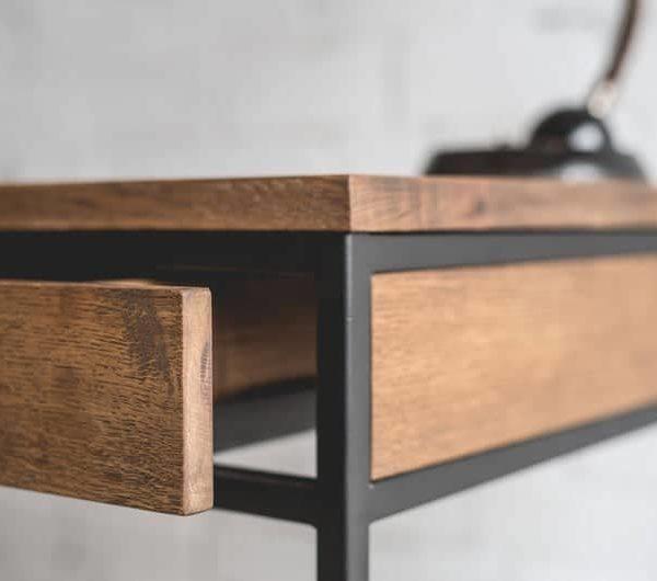 Рабочий стол / Промышленный стол / Промышленный стол / Дерево / Промышленная мебель / деревообработка / офисный стол / Мебель для офиса